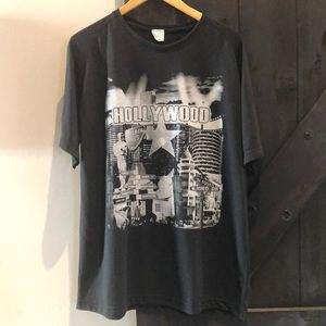 Hollywood, California short Sleeve Tee Shirt